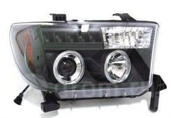 Фары светодиодные Toyota Tundra 2007+ Sonar Черные