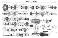 АКПП Тойота 2UZ-FE, A750F/ В Разбор