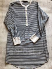 0e1fd9894d1 Назови Цену! Черно-белая женская рубашка бренда ZARA - Основная ...