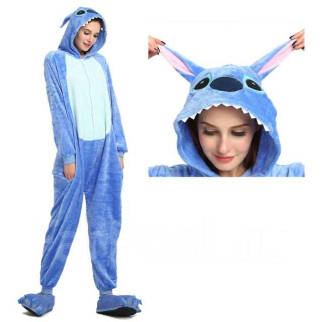 Пижама-Кигуруми (Стич). Бесплатная доставка - Одежда для дома и сна ... edcb21c9ffb02