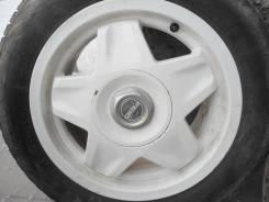 """Bridgestone Feid белые на R14 4x114,3/5x114,3 Bridgestone WS60 175/65. 6.0x14"""" 4x114.30, 5x114.30 ET20 ЦО 72,6мм."""