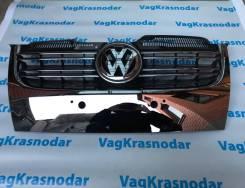 Решетка радиатора. Volkswagen Jetta, 1K2, 1K5 Двигатели: AXX, BKC, BKD, BLR, BLS, BLX, BLY, BMY, BPY, BSE, BSF, BVY, BVZ, BWA, BXE, CAWB, CBDB, CBFA...