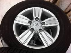 "Колеса Toyota LC200 R18 5*150 + 285/60 R18 Bridgestone Dueler H/T 684. 8.0x18"" 5x150.00 ET60"