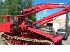 ОТЗ ТДТ-55. Трактор ТДТ-55 с установкой электрических опор, 62 л.с.