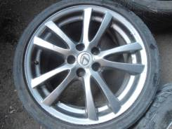 Lexus разноширы R18 5x114,3 лето Triangle TR968 225/40, 245/40 в сборе