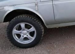 "Грязевые колёса на ниву R 16. x16"""