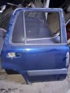 Дверь боковая Honda CR-V RD1 задняя правая синяя
