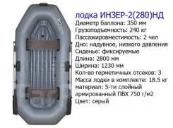 Инзер 2. 2019 год год, длина 2,80м., двигатель без двигателя