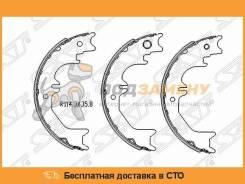 Колодки ручного тормоза TOYOTA LAND CRUISER 98-07 (комплект 4шт) SAT / ST4655060060
