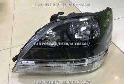 Фары (оптика) Lexus RX300 / Toyota Harrier 1998-2002 (черные)