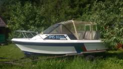 Yamaha Fish. 1999 год год, длина 5,20м., 90,00л.с., бензин