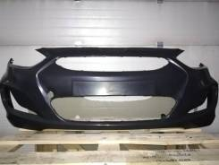 Бампер передний Hyundai Solaris 10-