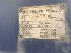 Korea Trailer. Трал HL3-2DNXW, 58 000кг.