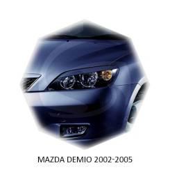 Накладка на фару. Mazda Demio, DY3R, DY3W, DY5R, DY5W