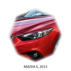 Накладка на фару. Mazda Atenza, GJ2AP, GJ2AW, GJ2FP, GJ2FW, GJ5FP, GJ5FW, GJEFP, GJEFW