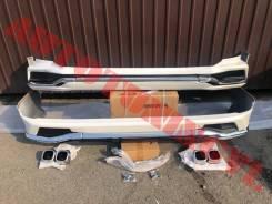 Обвес кузова аэродинамический. Lexus LX570, URJ201, URJ201W 3URFE
