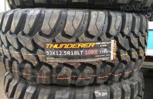 Thunderer Trac Grip M/T. Грязь MT, 2017 год, новые