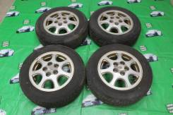 """Оригинальные диски Toyota Mark II jzx 90 R15 летняя резина Dunlop. 6.0x15"""" 5x114.30 ET50"""