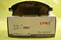 Колодки тормозные передние LYNX Nissan X-Trail(T30) 2.0-2.5 07/Pathfinder(R50) 2.7TD-3.5 97-04, Infiniti Q45 93/QX4 97 BD-5704