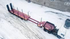 Bitter. Раздвижной низкорамный трал тяжеловоз г/п 65 тонн, 65 000кг.