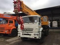 Ивановец КС-45717К-3. Автокран Камаз 43118 25 тонн и 21.4 метр, 21,40м.