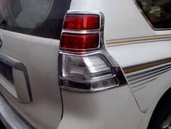 Накладка на стоп-сигнал. Toyota Land Cruiser Prado, GDJ150, GDJ150L, GDJ150W, GDJ151W, GRJ150, GRJ150L, GRJ150W, GRJ151W, KDJ150, KDJ150L, TRJ150, TRJ...