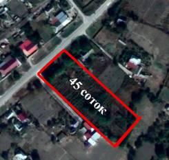 Земля поселений(ИЖС). 4 500кв.м., собственность, электричество, вода