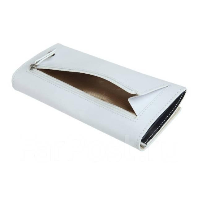 70d35a46bb52 Белый Женский Кошелек, Натуральная кожа, Gianni Conti, Италия, Sale ...