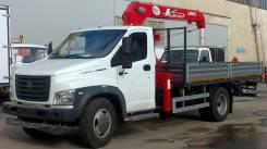 ГАЗ ГАЗон Next C41R33. Кран-манипулятор (КМУ UNIC 734) ГАЗон Next C41R33, 4 250кг., 4x2. Под заказ