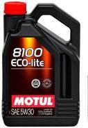 Motul 8100 Eco. 5W-30, 4,00л.