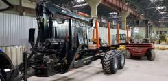 BMF, 2019. Полуприцеп тракторный лесовозный BMF 12T2PRO и манипулятором BMF 650, 12 000кг.