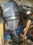 Yamaha. 100,00л.с., 4-тактный, бензиновый, нога X (635 мм), 2007 год