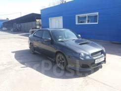 Обвес кузова аэродинамический. Subaru Legacy, BL, BL5, BL9, BLD, BLE