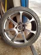 Одно колесо на запаску AVS Model 7 215/45R17 большие суппорта ОК