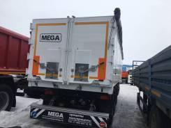 MEGA MNW 3. (самосвальный полуприцеп 42 м3 ССУ 1150 алюминий), 34 000кг.