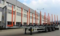 Zaslaw. Полуприцепы для транспортировки древесины, 31 000кг.