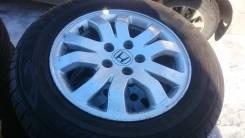 Шины лето хонда црв 21565R16 с литьём 5114.3R16 оригинал 4 шт.
