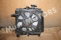 Радиатор охлаждения + вентилятор Kia picanto 1.0 1.1 04-11