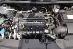 Двигатель в сборе. Kia Rio Kia Ceed Hyundai Solaris Hyundai i30 Двигатель G4FC