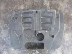 Крышка двигателя. Kia Sorento Двигатель D4CBAENG