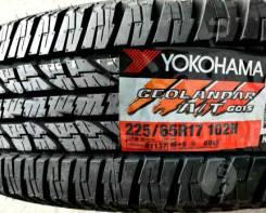Yokohama Geolandar A/T G015,*Расширенная Гарантия - 1 ГОД. При грыже,порезе - бесплатная замена шины, 225/65 R17