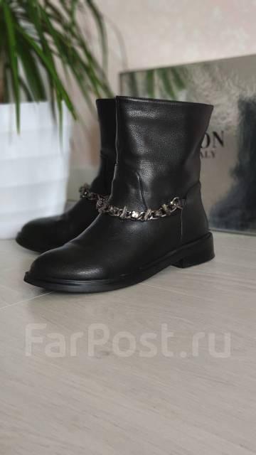 63aa0d97 Крутые брендовые ботинки натуральная кожа - Обувь во Владивостоке