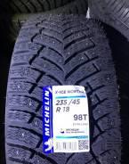 Michelin X-Ice North 4. Зимние, шипованные, 2018 год, без износа, 4 шт. Под заказ