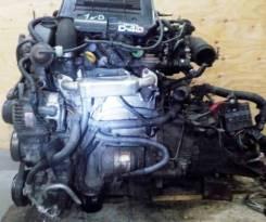 Двигатель с МКПП, Toyota 1ND-TV коса+комп (2WD)