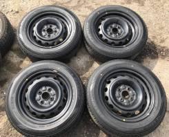 "175/65R14 Dunlop Enasave EC202 Japan 2018г новые с дисками 4*100. 6.0x14"" 4x100.00 ЦО 54,1мм."