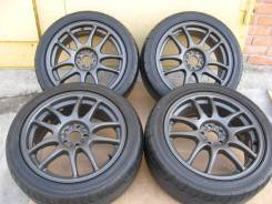 "Диски Work EmotionCR-KAI D17 5*100.00+ лето 225/45R17 Dunlop. 7.0x17"" 5x100.00 ET47 ЦО 60,0 мм."