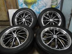 """Продам Редкие Стильные колёса Avanzar+Лето 215/55R17Estima, Odyssey. 7.0x17"""" 5x114.30 ET50"""
