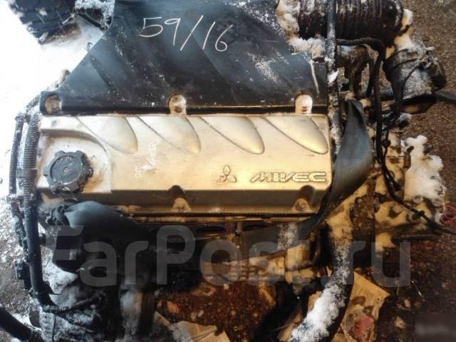 Двигатель 4G69 Mitsubishi galant, outlander, галан