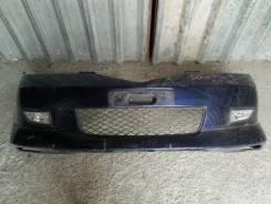 Бампер передний с туманками mazda demio dy3w