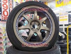 WEDS SA90 R17+Bridgestone